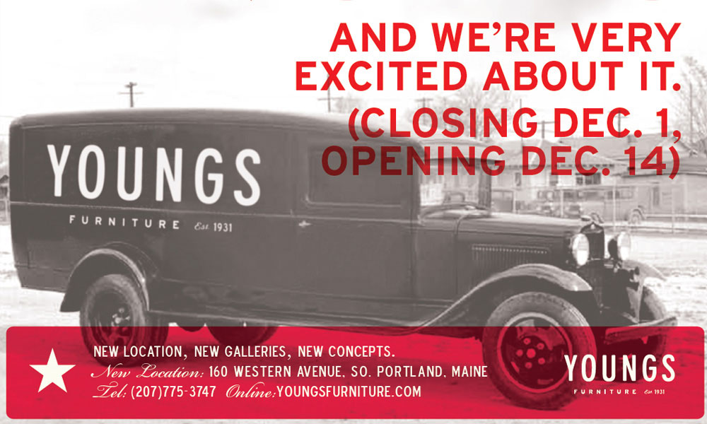 Youngs Furniture Branding