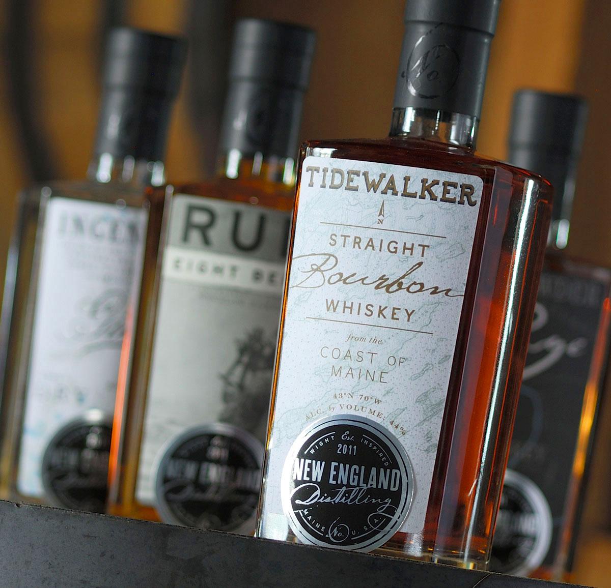 New England Distilling Branding