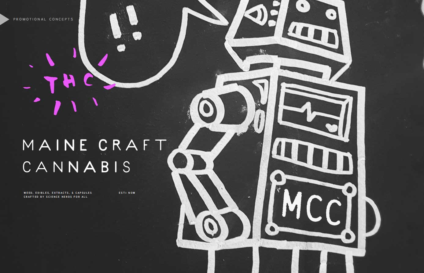 Maine Craft Cannabis Branding