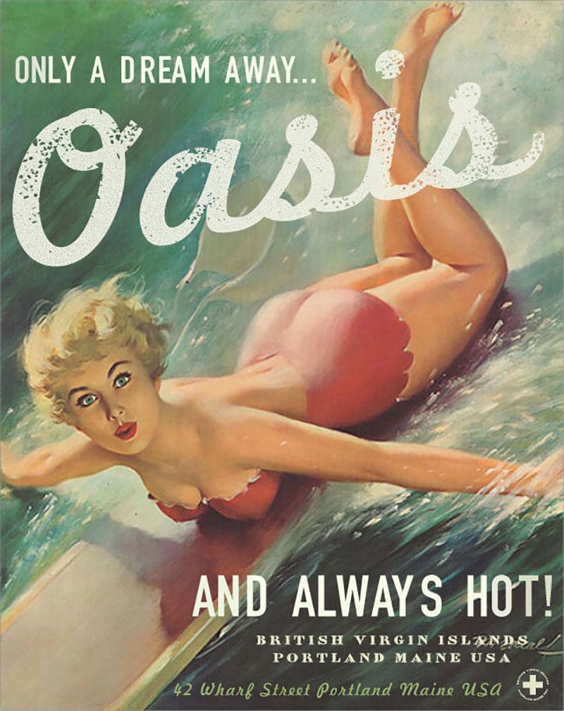 Oasis Nightclub Branding
