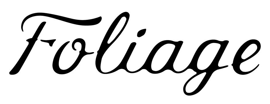 Foliage Cannabis Logo Wordmark