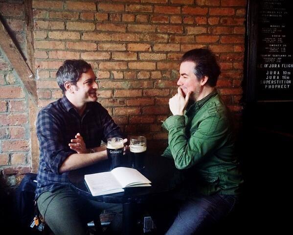 Josh with actor  Kevin Corrigan