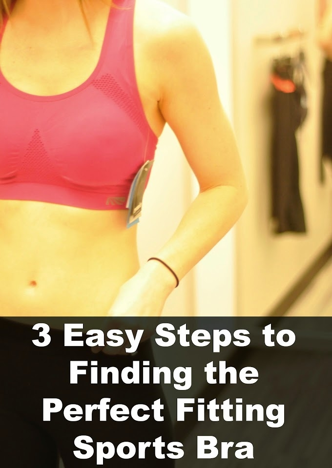 How to pick the perfect fitting sports bra