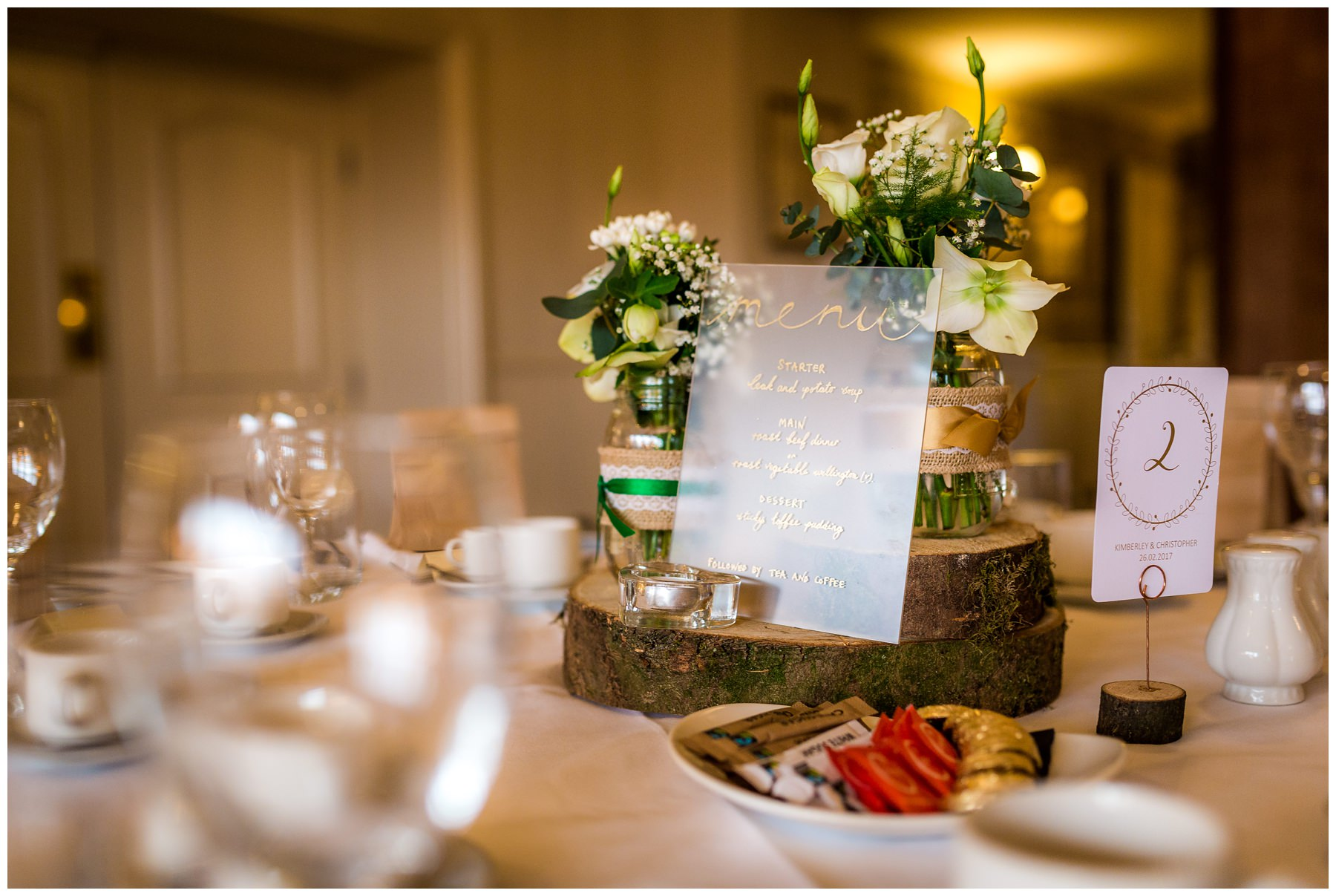room detail with table numbers