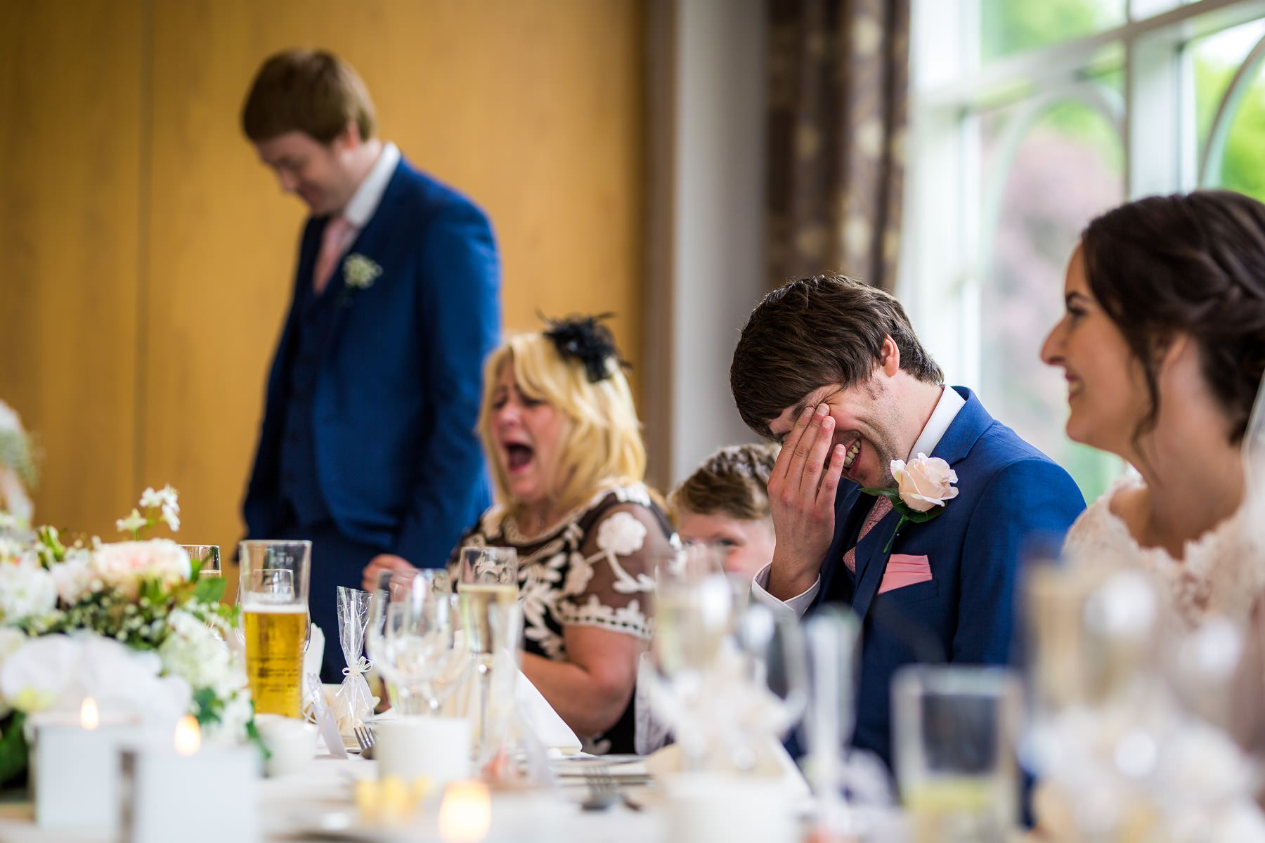 mum shocked during best man speech
