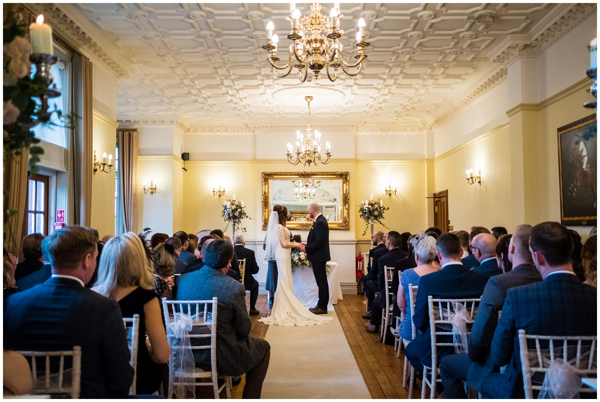 shot of ceremony room at nunsmere hall