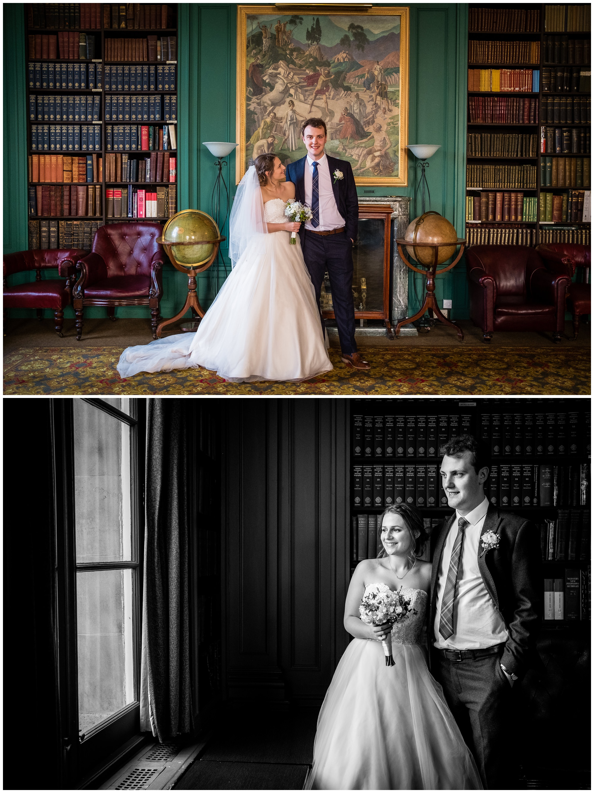 bride and groom at the athenaeum, liverpool