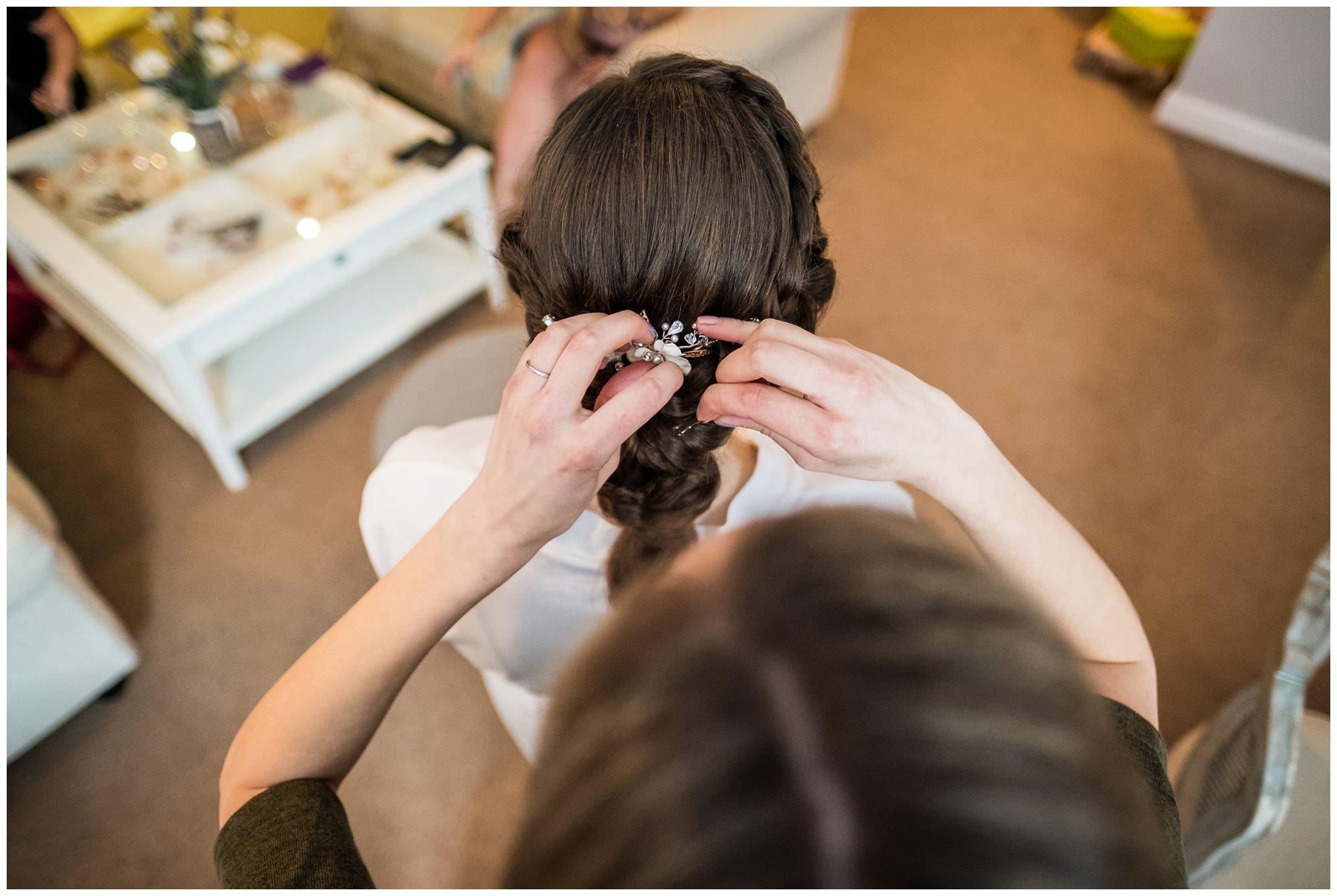 wedding hair by carlys creations