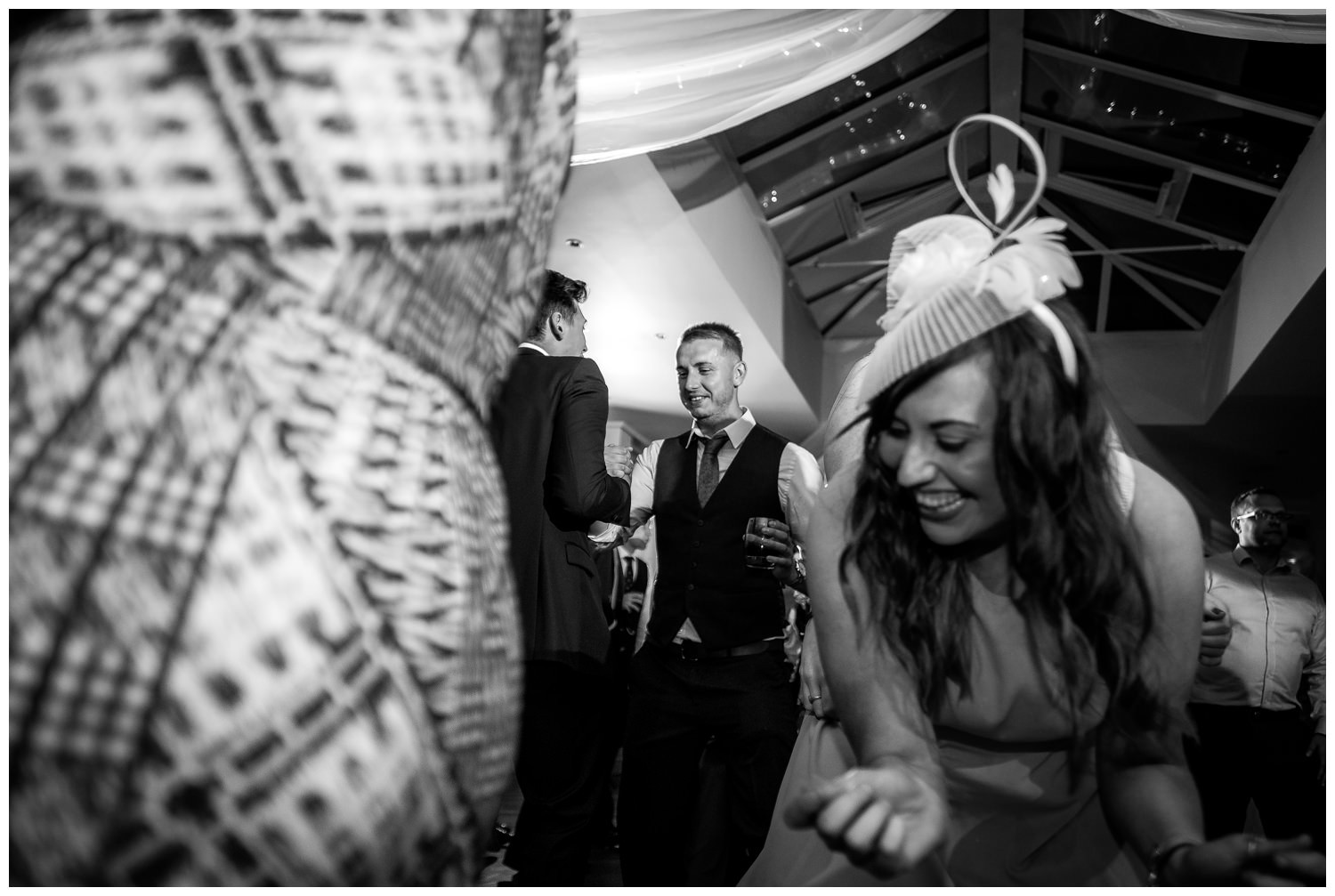guests partying at mitton hall