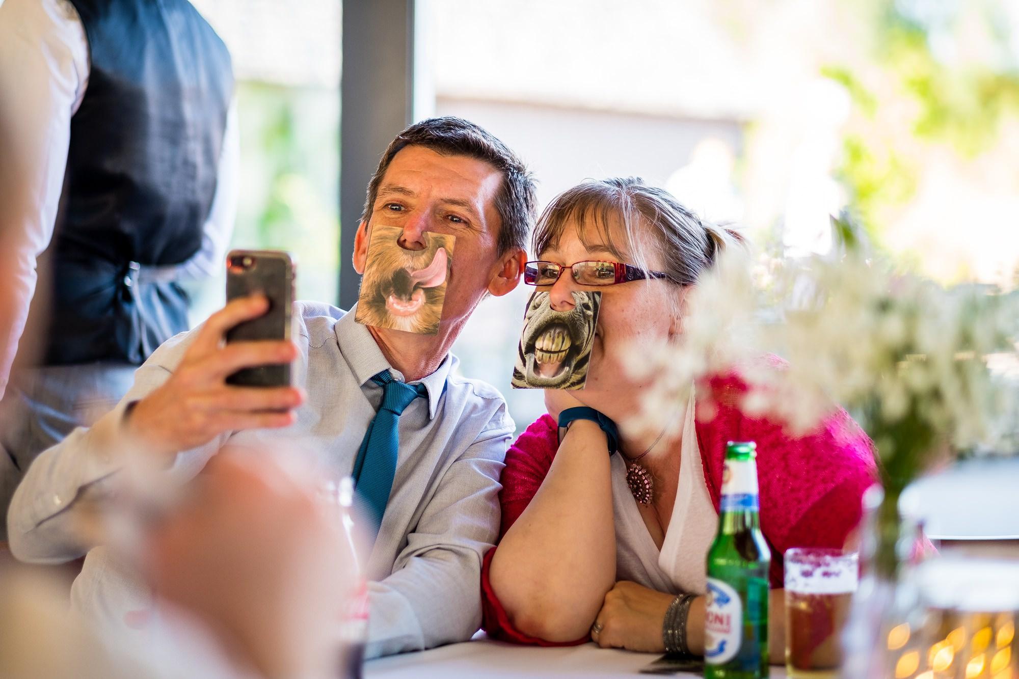 guests doing a selfie