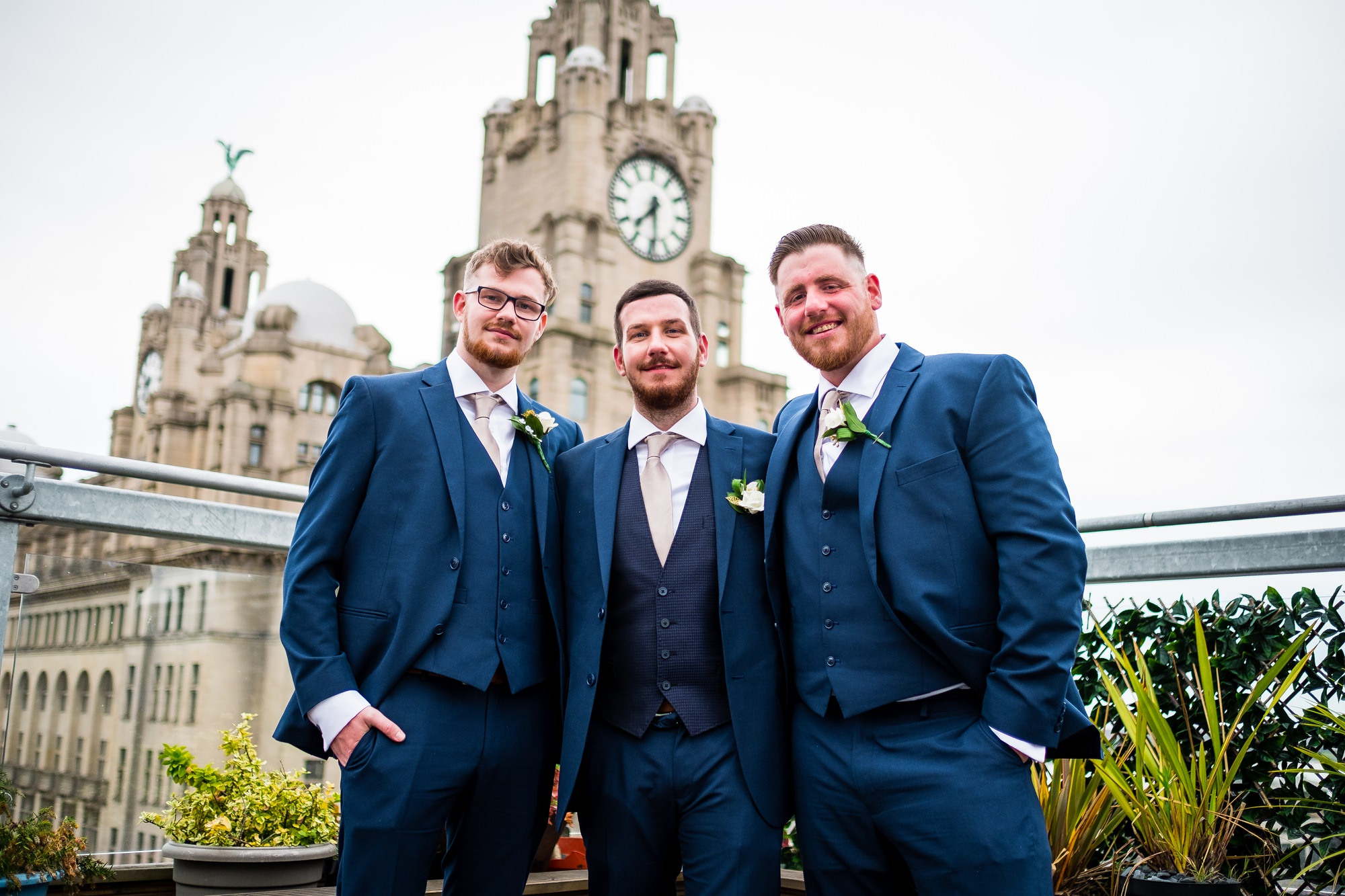 groom and groomsmen at oh me, oh my