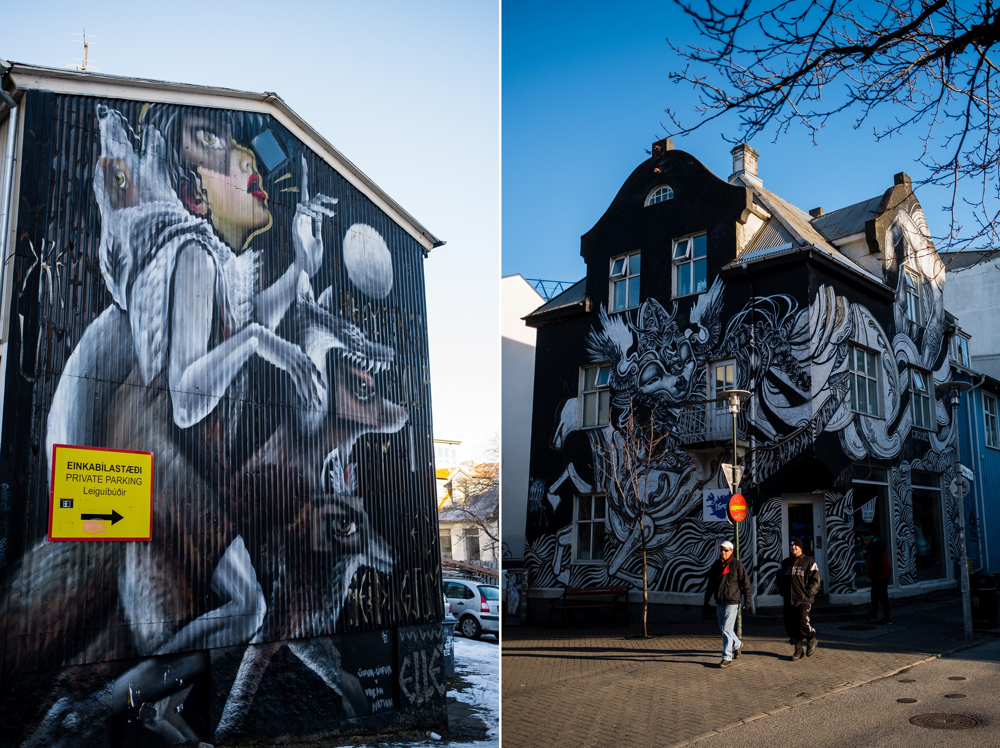 Iceland street photography