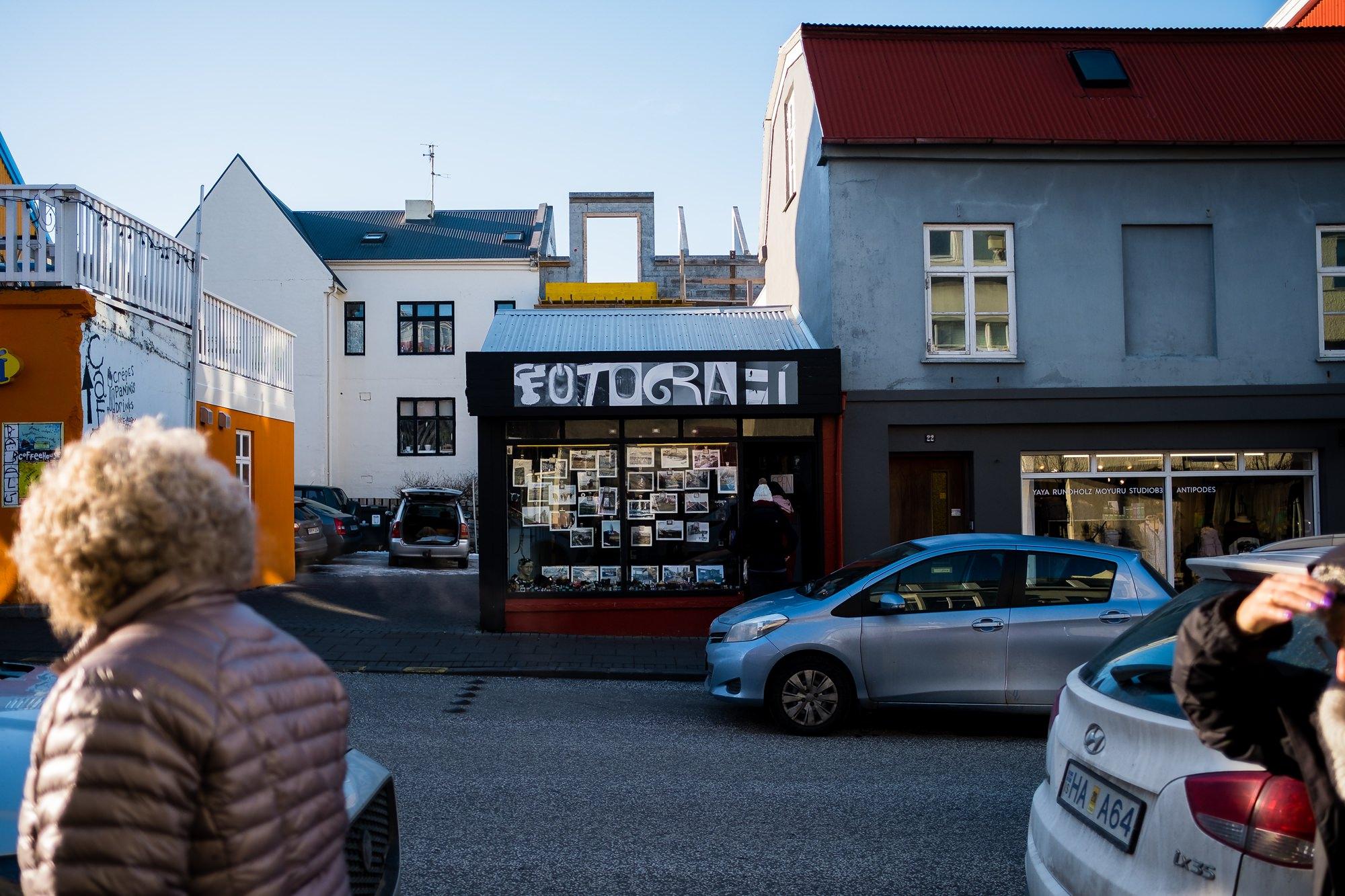 Iceland street photographer