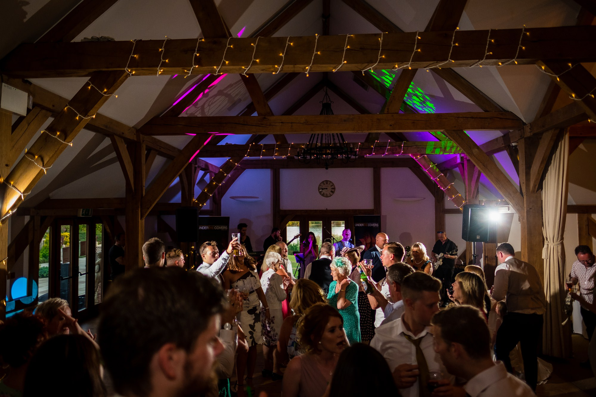 all guests on the dance floor