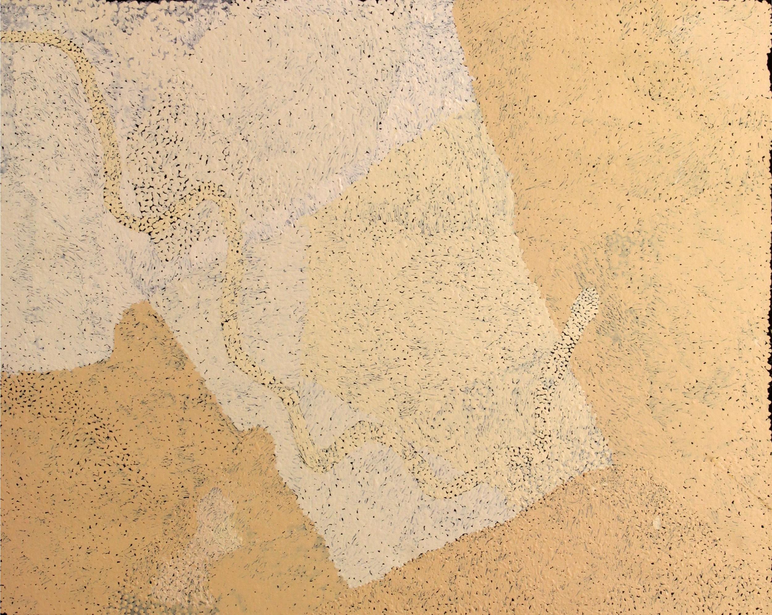 "Pepai Jangala Carroll  Walungurru  Acrylic on linen 31.5"" x 39"" (80 x 100 cm) Ernabella Arts Catalog #491-15   SOLD"