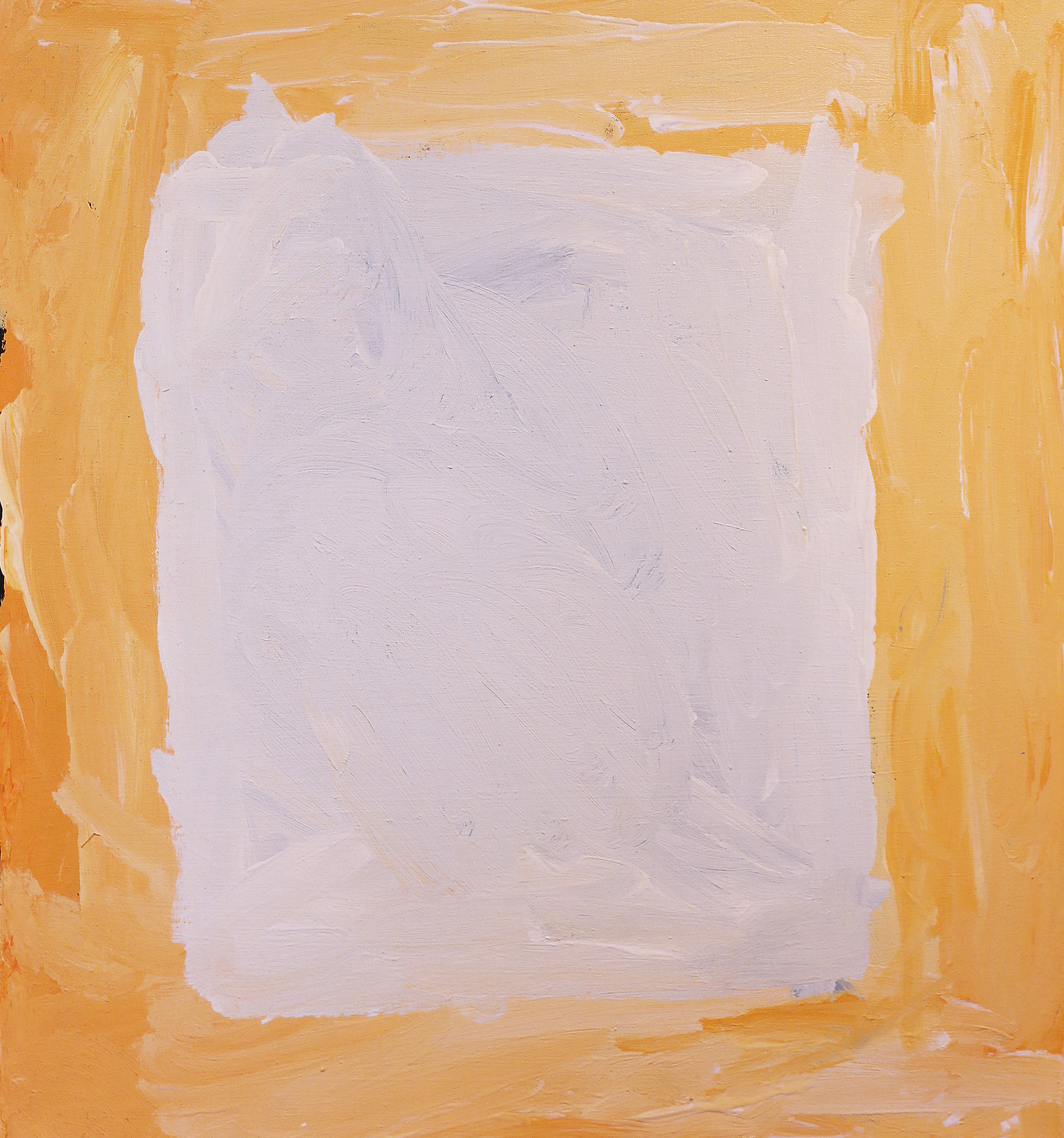 """Sandy Brumby  Victory Downs  Acrylic on canvas 24"""" x 22"""" (61 x 56 cm) Ninuku Arts Catalog #14-58   EMAIL INQUIRY"""