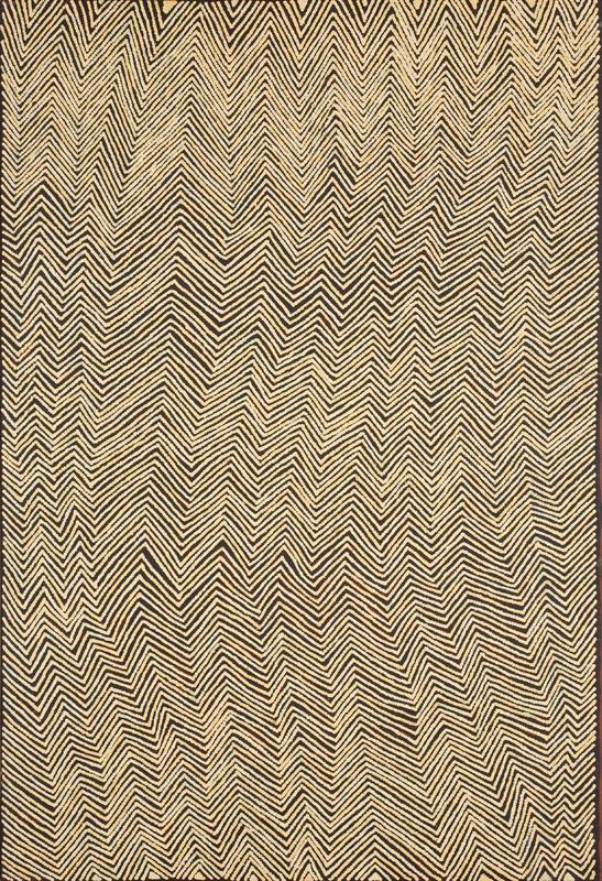 "Doreen Reid Nakarmarra  Untitled, 2006  24 x 36"" (91 x 61 cm) Acrylic on Belgian linen Papunya Tula Artists Catalog #DR0610089"