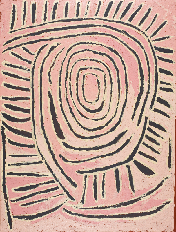 Tjunkiya Napaltjarri  Untitled  122 x 91cm   Acrylic on Belgian linen Papunya Tula Artists Catalog #TN0807107   EMAIL INQUIRY