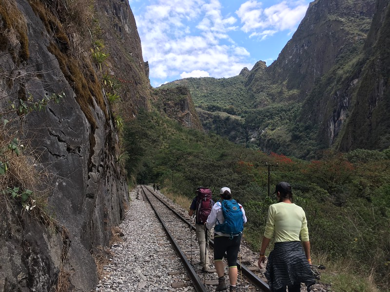 Following the tracks to Aguas Calientes