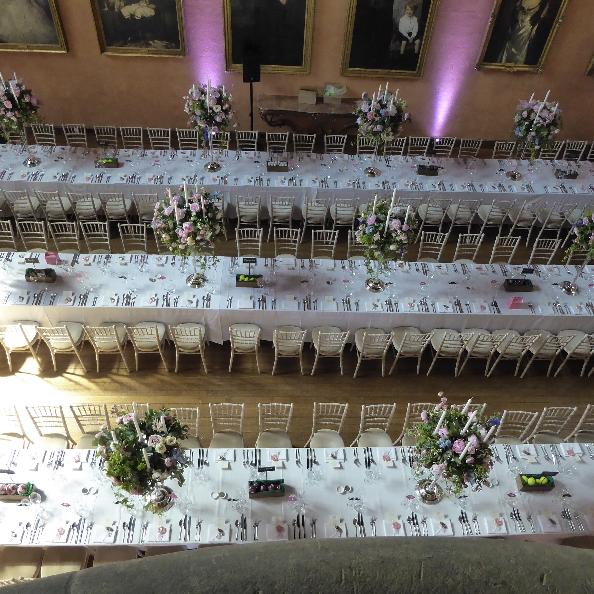 Buck Hall Wedding Breakfast