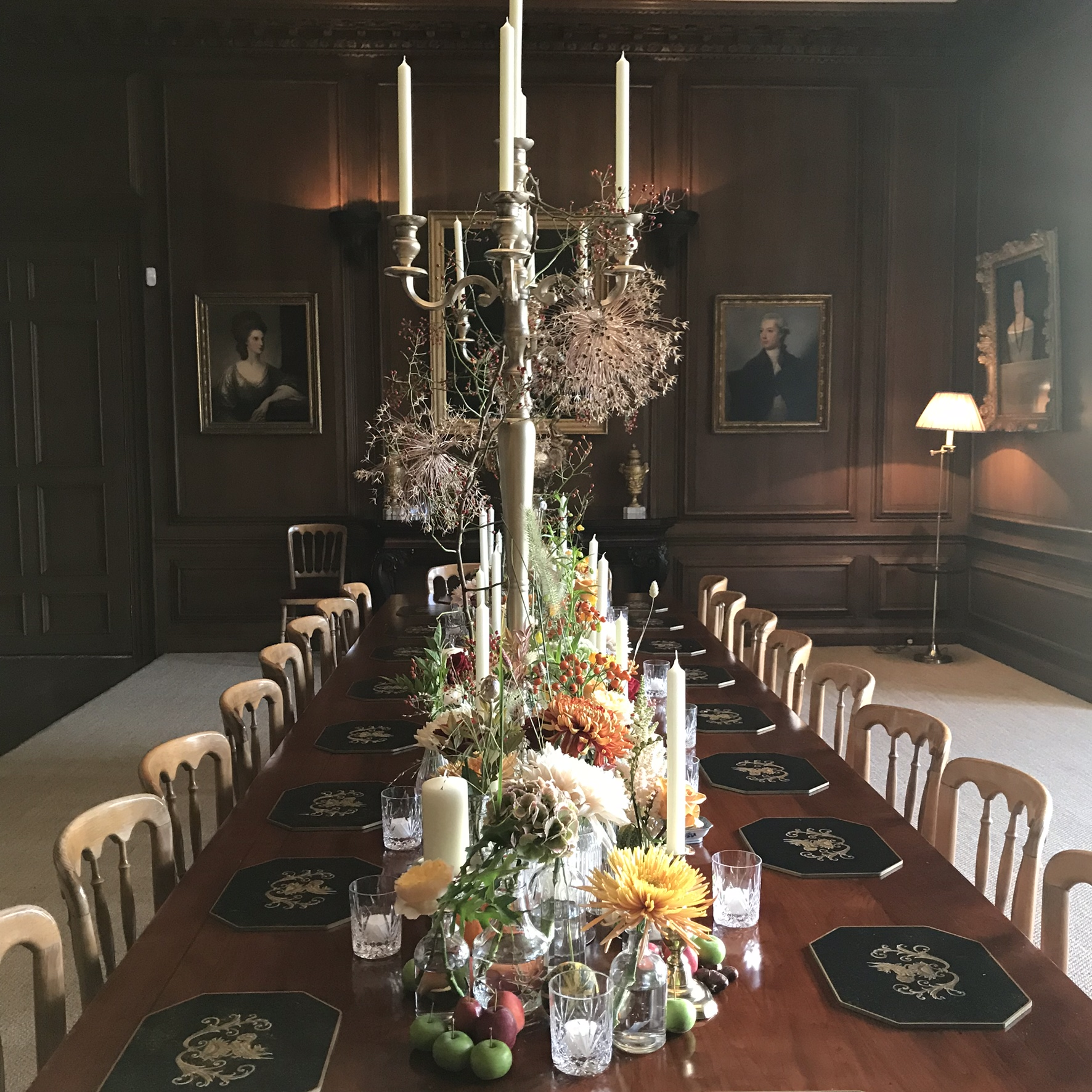 The Dining Room at Cowdray House