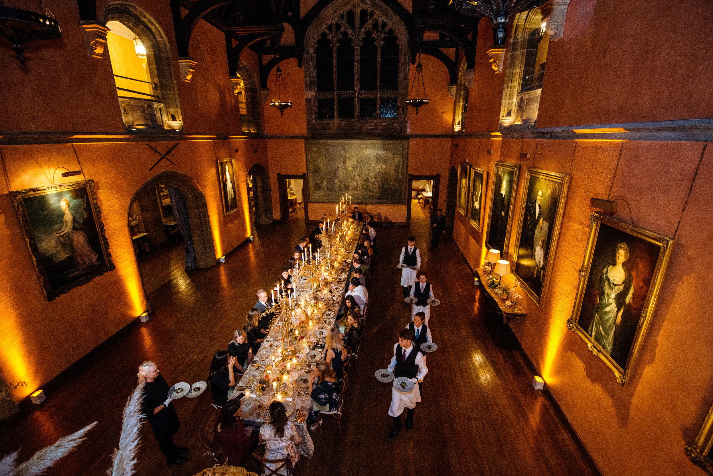 Buck Hall Cowdray House for a Dinner hosted by Caper and Berry