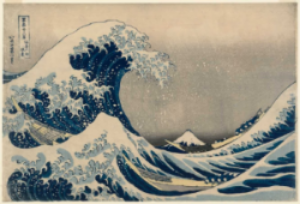 Great Wave off Kanagawa (Housaki)