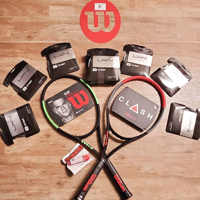 New Wilson Ad Staff Gear Arrived!  Excited to try it out.  #wilsontennis #wilsonadvisorystaff #usptanorcal #ustanorcal