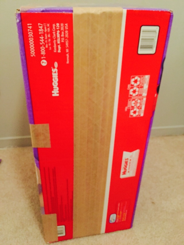 3. Tape up all of the sides of each boxes after you are finished with the cutting.