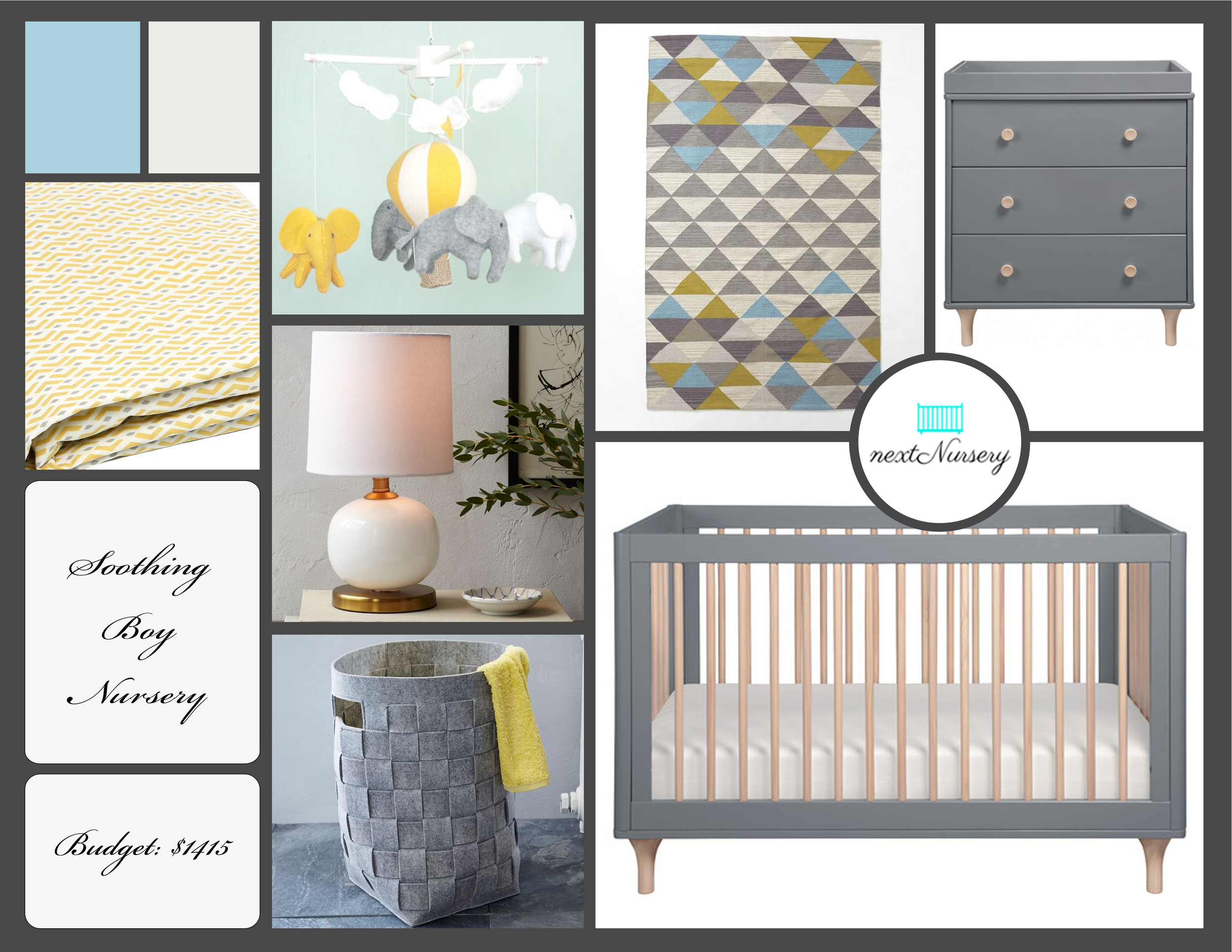 MODERN BOY NURSERY     A modern and bright baby boy nursery that will fit into the decor of any home.  Natural accents provides a soothing quality to this design.