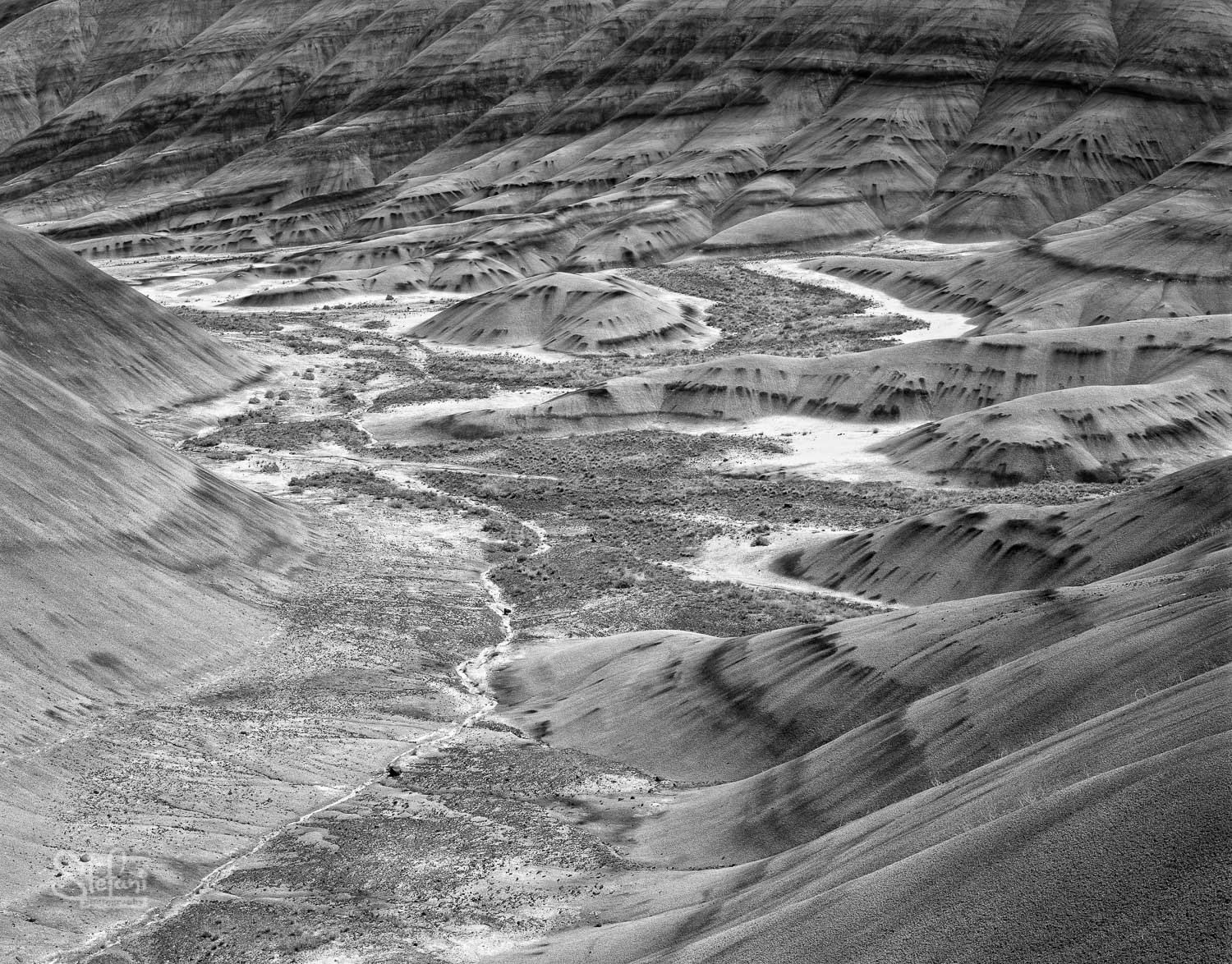 PAINTED HILLS DETAIL III