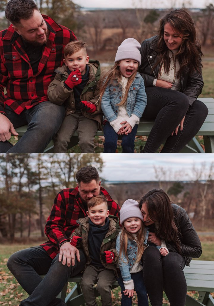 Fun and Natural Family Photos with Preschoolers /// What to Wear for Kids /// Relaxed Winter Family Photos /// Modern + Natural Winter Family Pictures by Boston and Cape Cod Family and Children's Portrait Photographer Asher + Oak ///  asherandoak.com