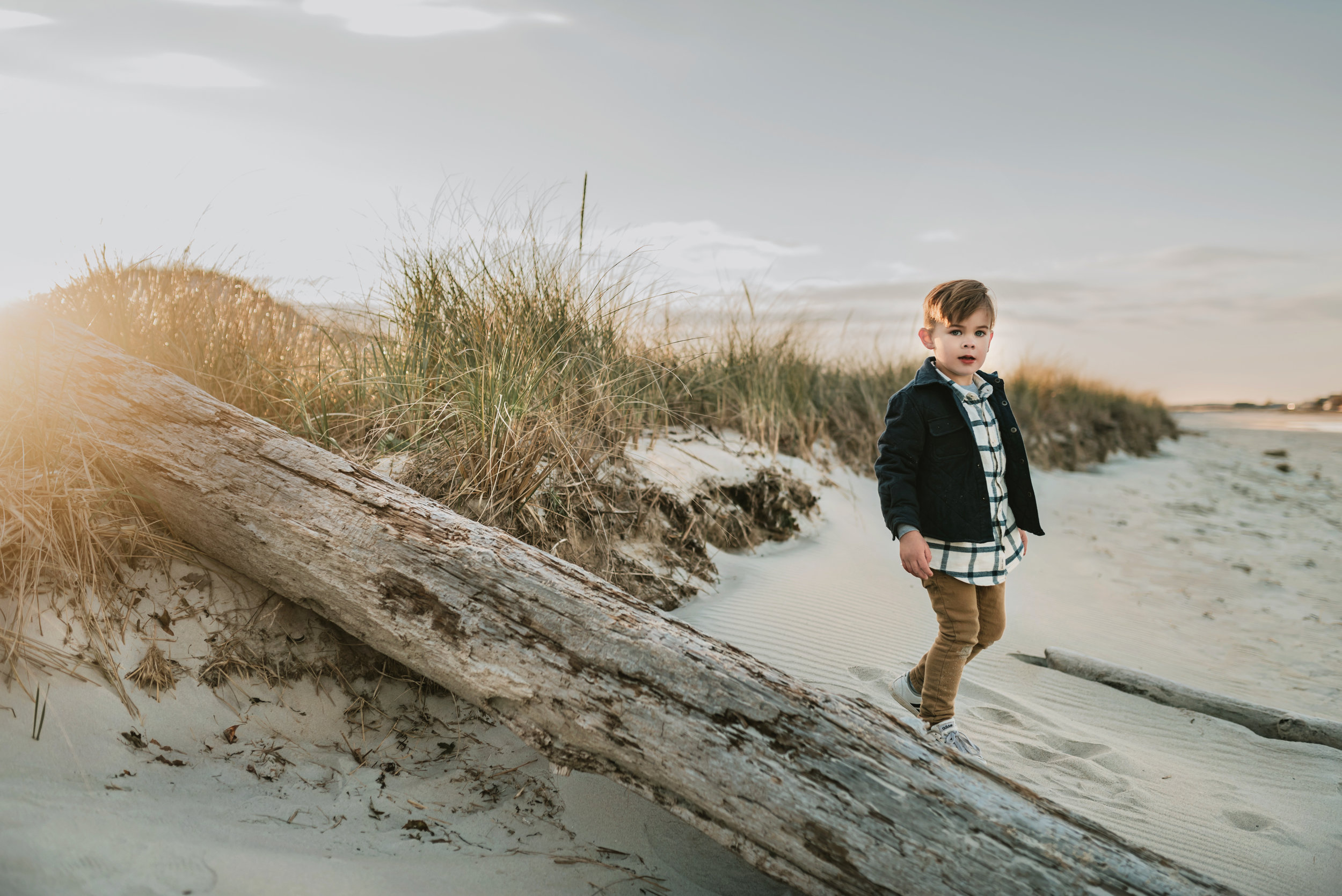Beautiful Unposed Children's Portraits at Crane Beach