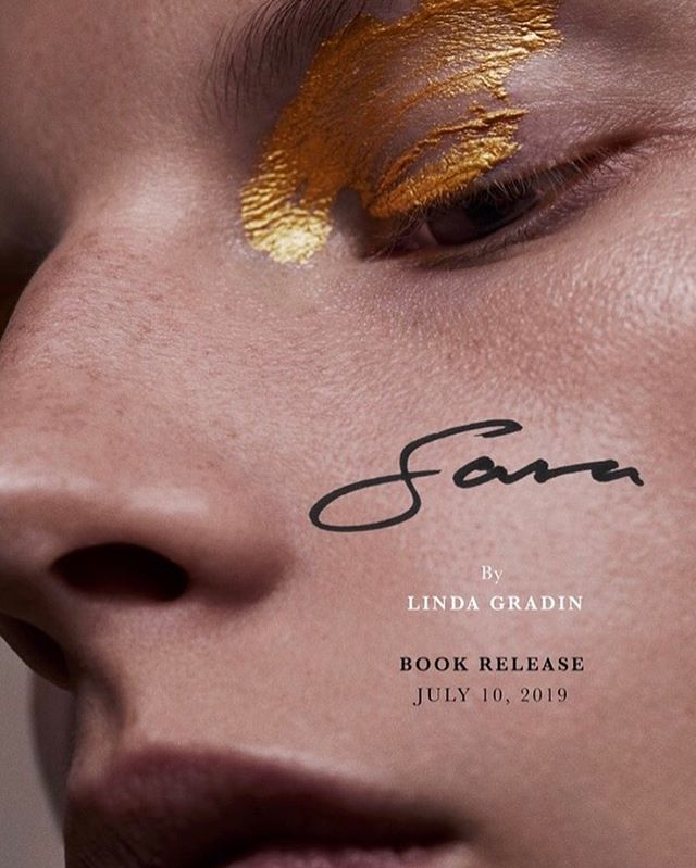 "July 10th in New York! Exhibition and book release! Save the date! ""Sara"" @s_blomqvist by @lindagradinmakeup, @rachelgilman_, @rominahair, @yukie_miyakawa_nails and myself."