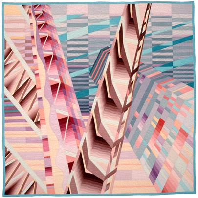 "Clear Palisades , 1987 Linda MacDonald 92x92"""