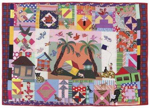 """Lively Island by Genovivia """"Novie"""" Gudia, 2007, 85 x 60"""""""