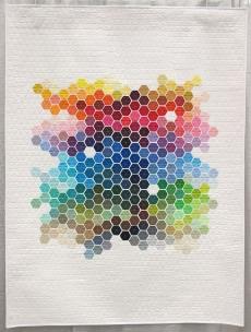 Nicole Daksiewicz, Geometric Rainbow