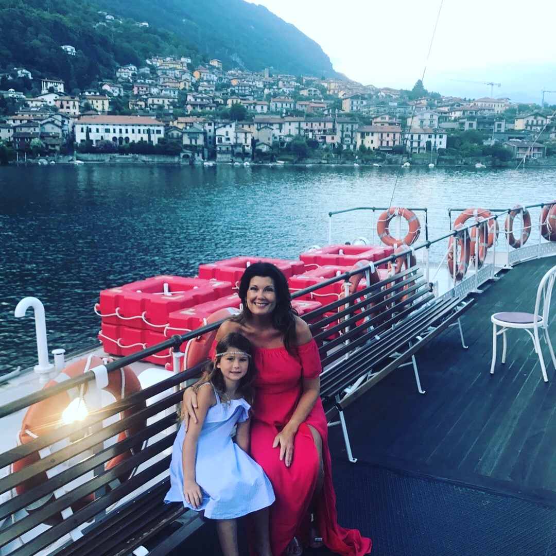 Taylor and I in Lake Como, Italy....August 2017