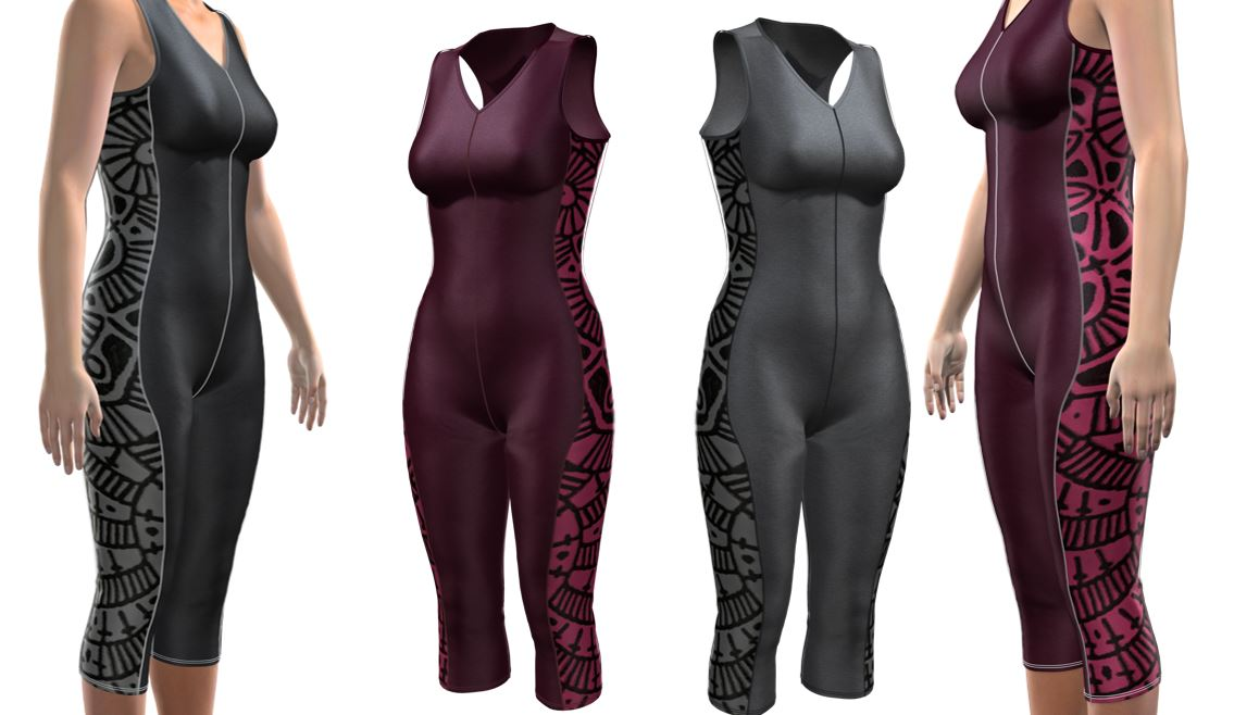 - 3D VIRTUAL SAMPLING2D pattern is virtually draped on the body (digital fit model). You will see the actual results of the digital pattern creation-3D digital sample.