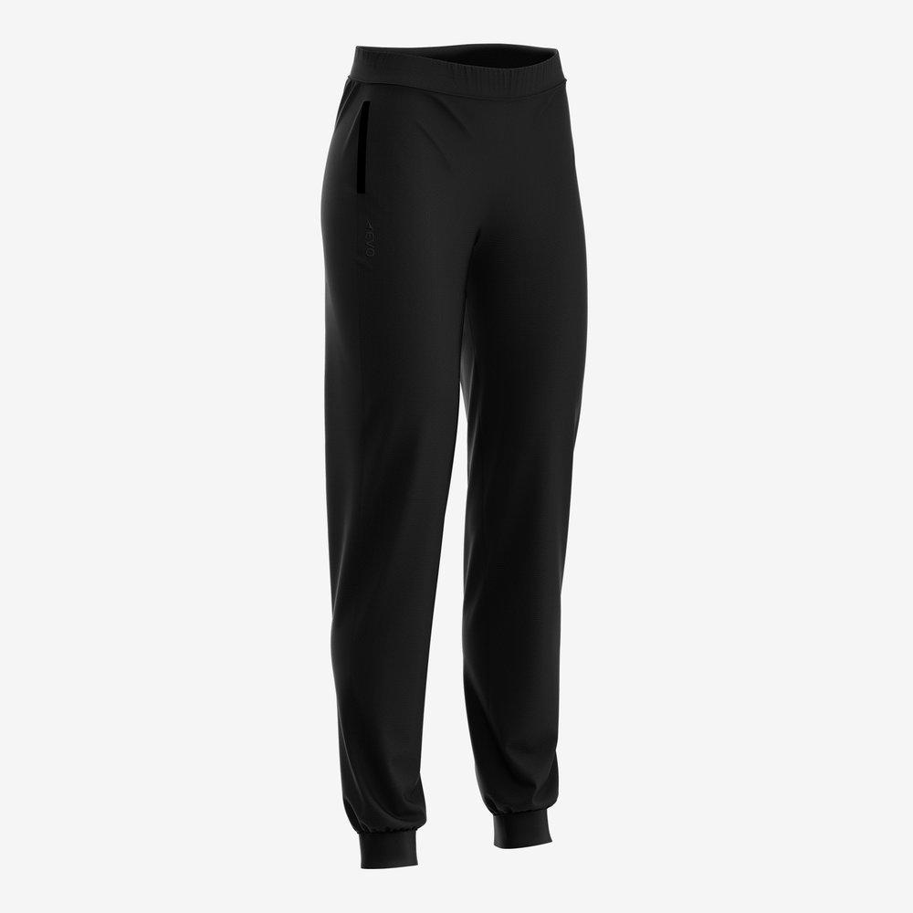 Active Women's Track Pant (Black) — EVO Sportswear