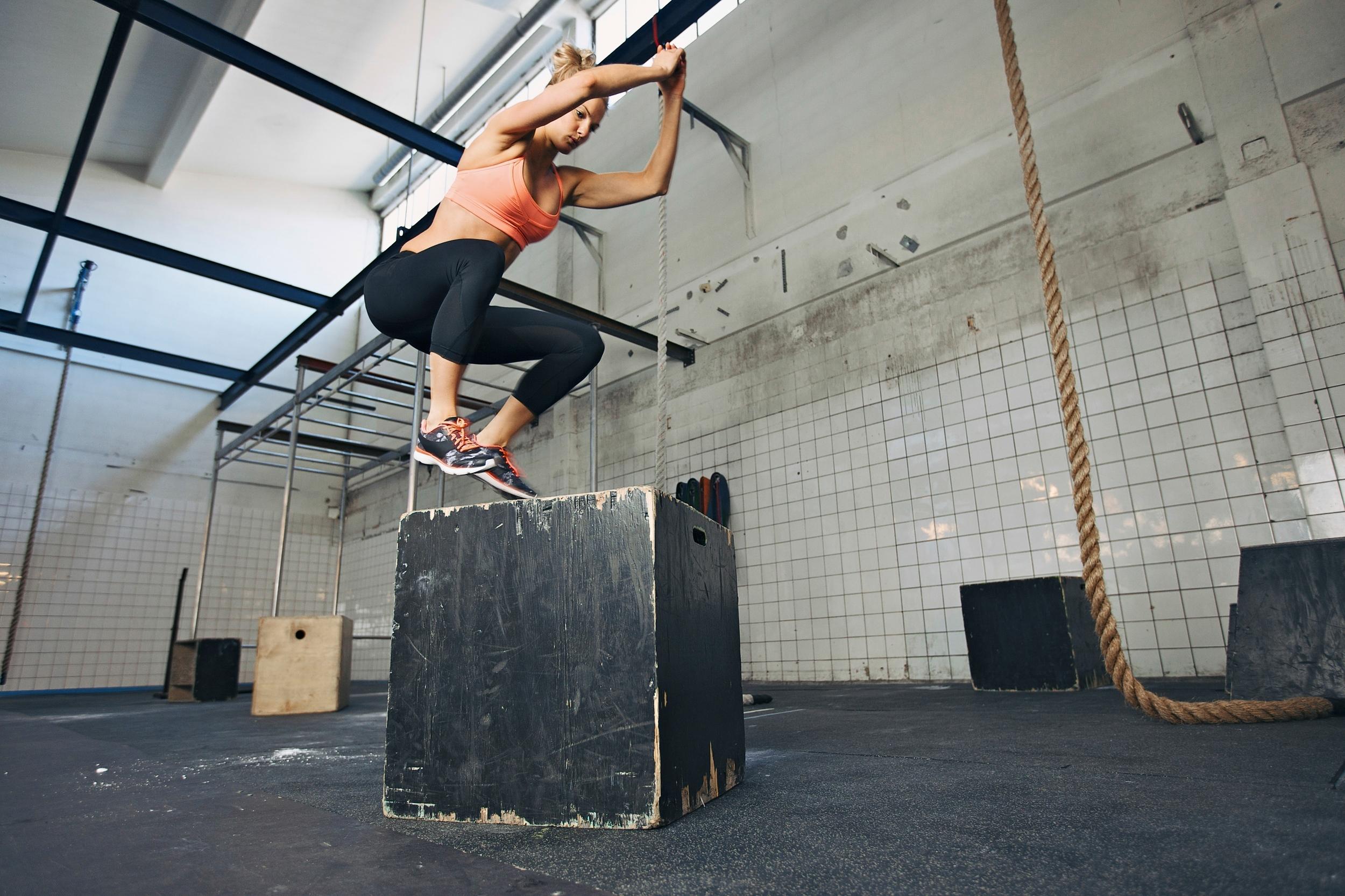 hunter bennett performance box jumps