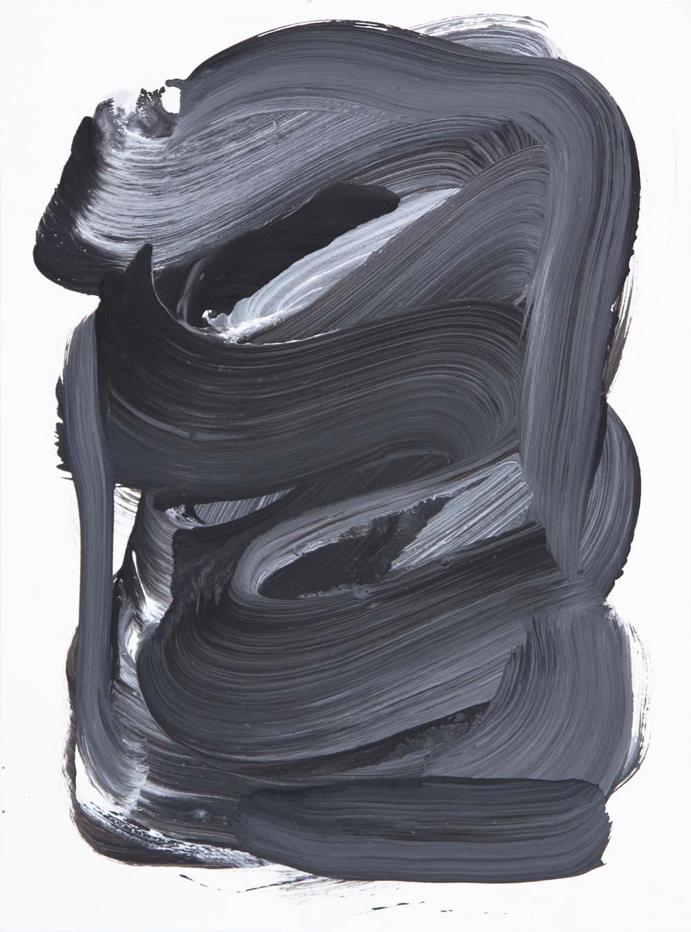 Wiseguy 3 , 2017 Acrylic 12 x 9 in.