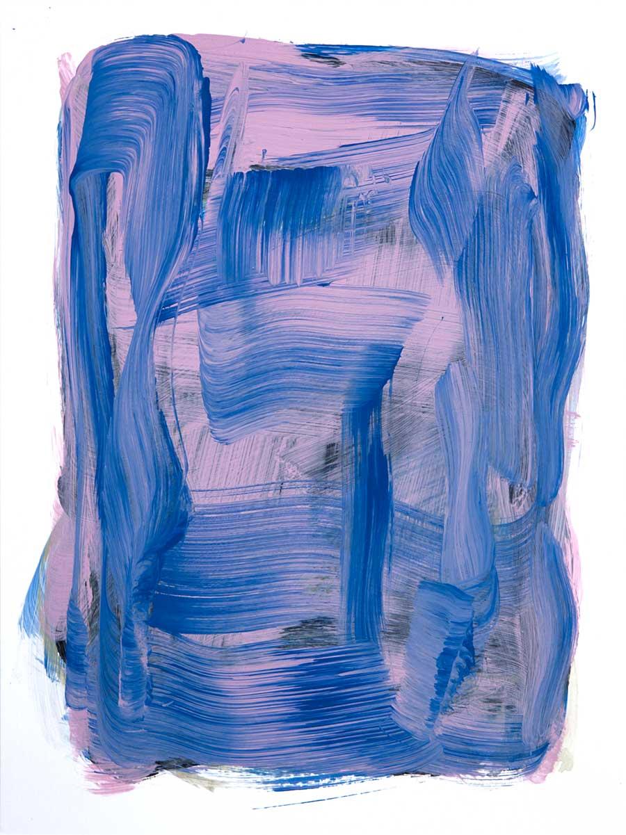 Windjammer 1 , 2017 Acrylic 12 x 9 in.