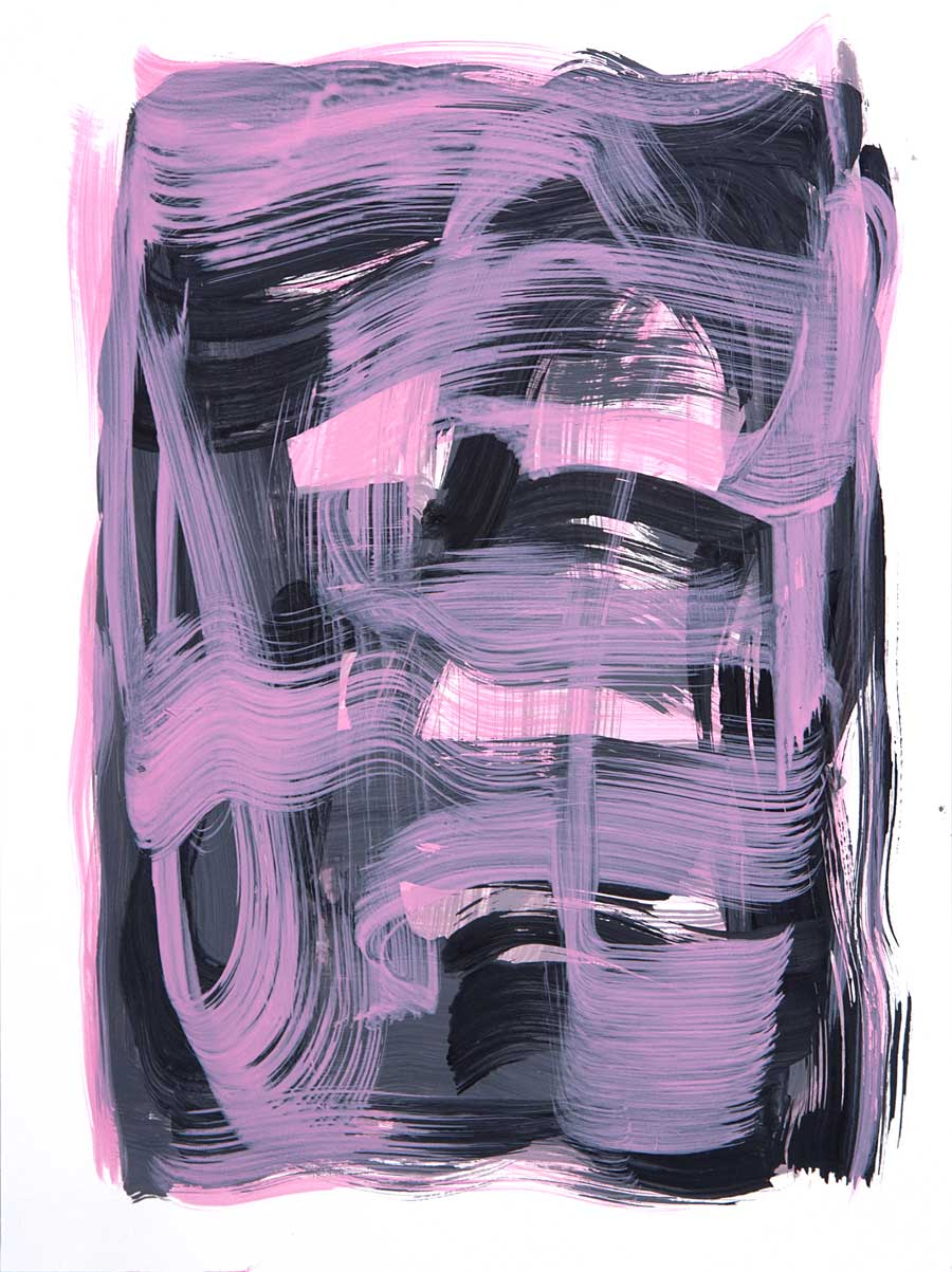 Windjammer 2 , 2017 Acrylic 12 x 9 in.