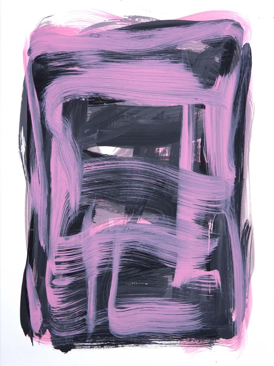 Windjammer 3 , 2017 Acrylic 12 x 9 in.