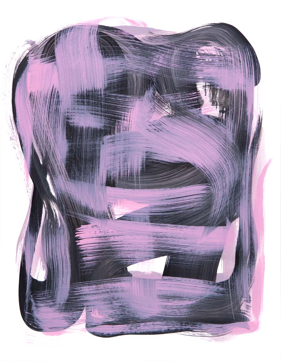 Windjammer 11 , 2017 Acrylic 14 x 11 in.