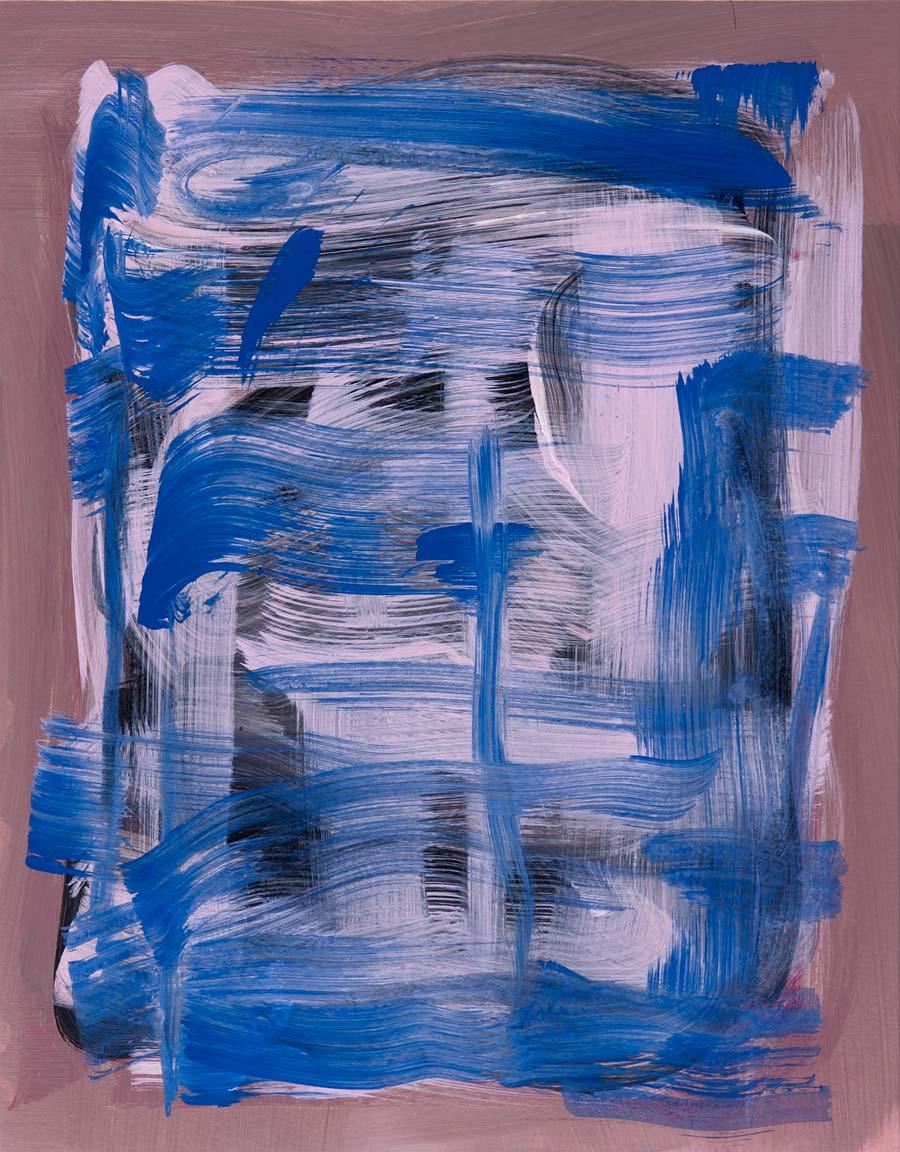 Windjammer 14 , 2017 Acrylic 14 x 11 in.