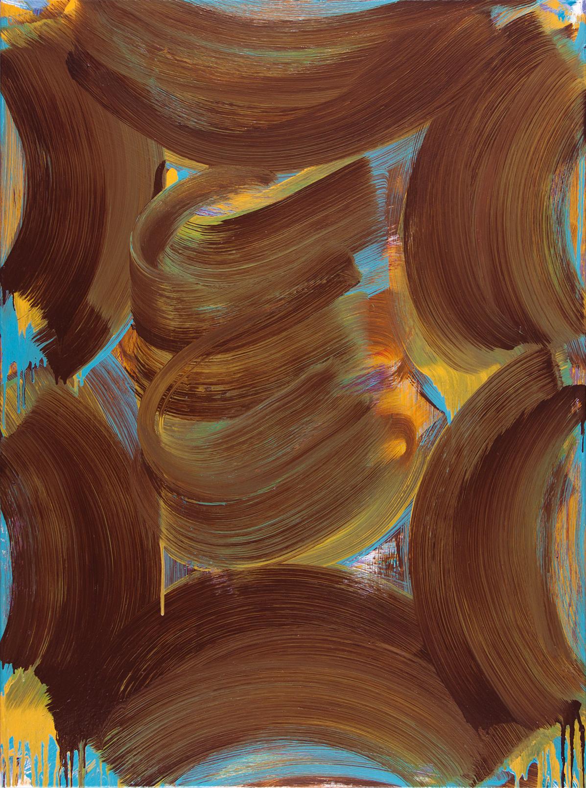 Rock-A-Bye , 2015 oil on canvas 34 x 30 in.