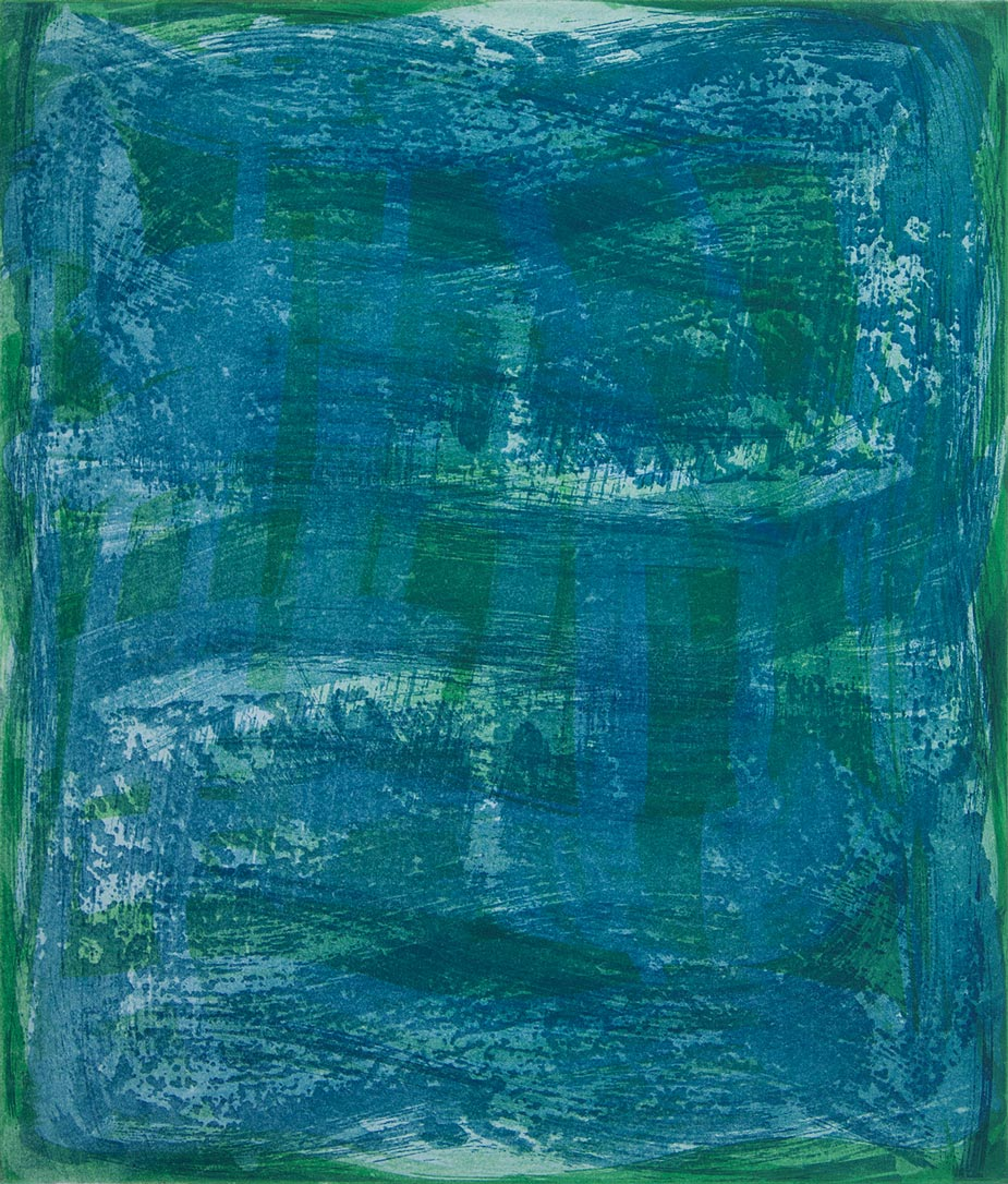 Serpentine 11 , 2018 Etching monotype  image/plate size 14 x 12 in. Sheet size 24 x 22 in.