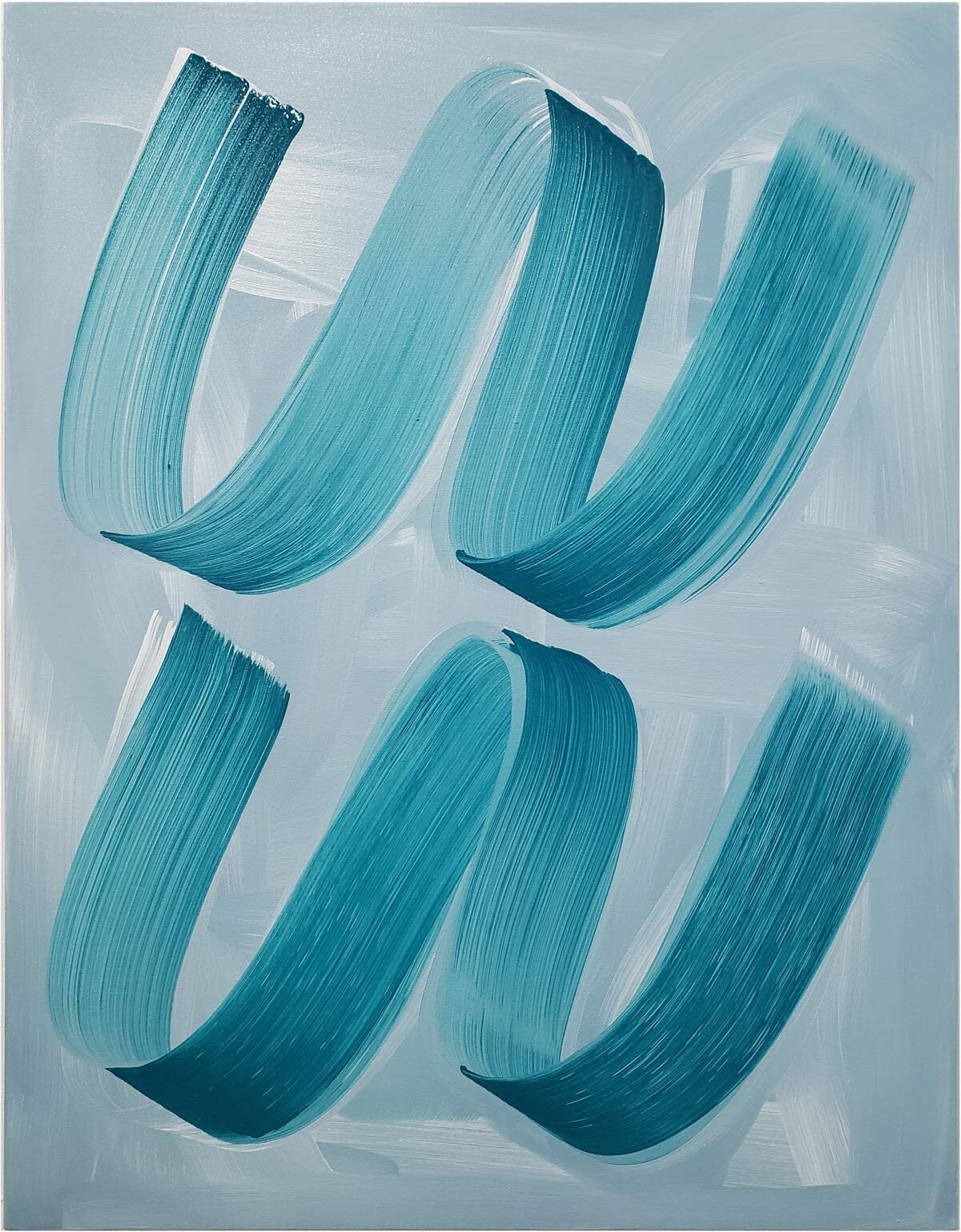 Do-si-do , 2019 oil on canvas 36 x 28 in.